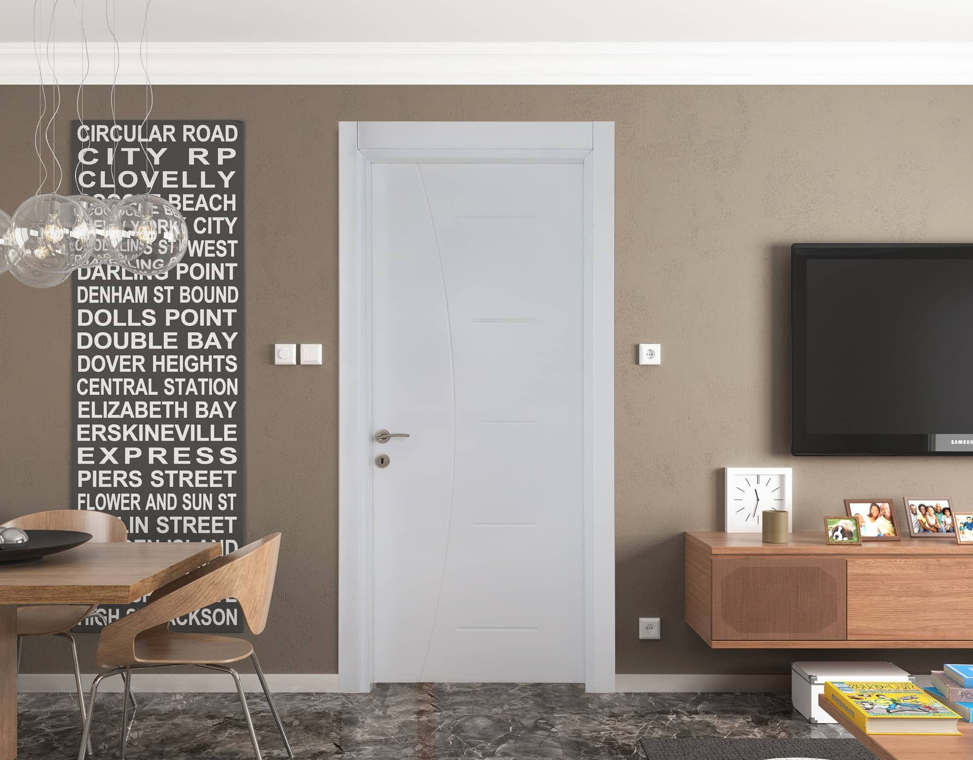 & Lacquered Doors and Prices | Kahramanlar Forest Products