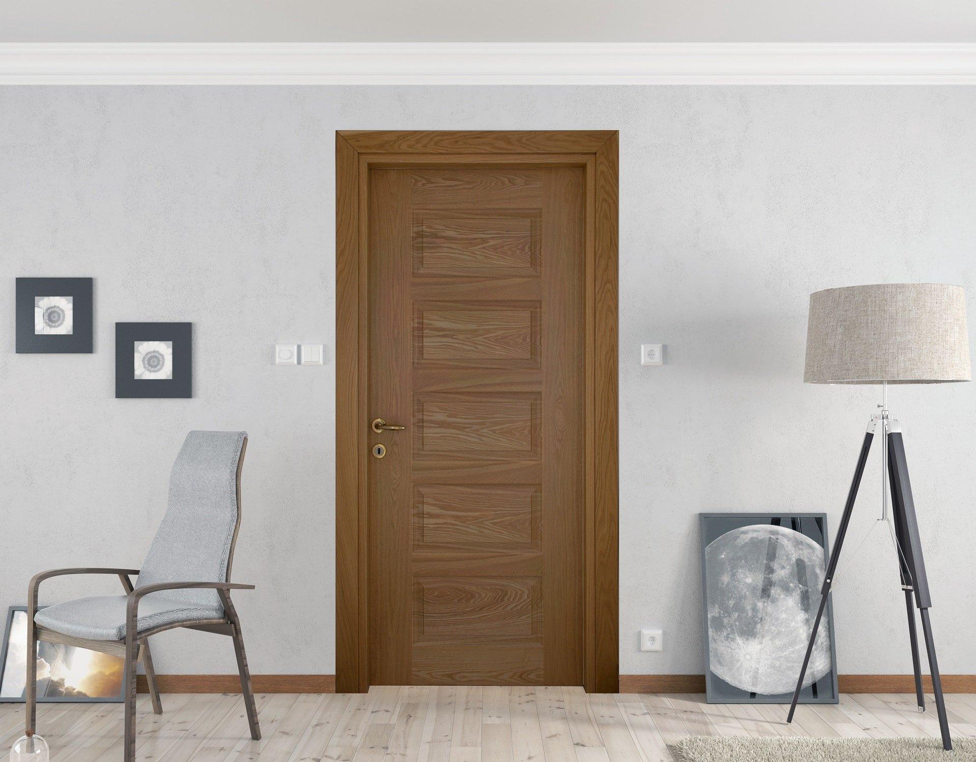 Kaplamalı Kapı